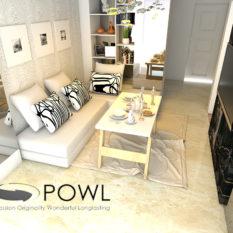 Jual Paket Interior apartemen furniture