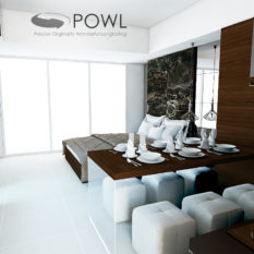desain interior apartemen la grande merdeka taman