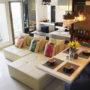 interior apartemen ciumbuleuit paket 3 kamar tidur