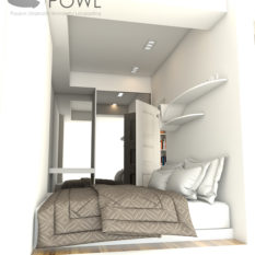 jual paket interior apartemen 2 kamar