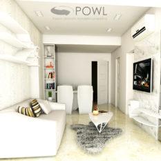 paket interior apartemen 2 bedroom