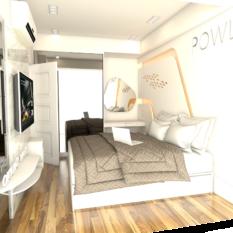 paket interior apartemen murah landmark residence
