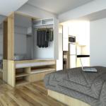 Furniture Multifungsi Untuk Apartemen 2 Kamar Kreatif