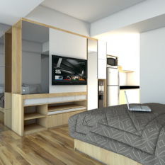Jual Paket Interior Apartment Type Studio