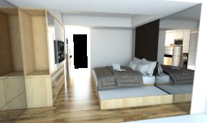 cara Penggunaan Furniture Serba Guna Apartemen 1 Kamar