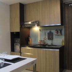 interior apartemen 3 bedroom 128 juta
