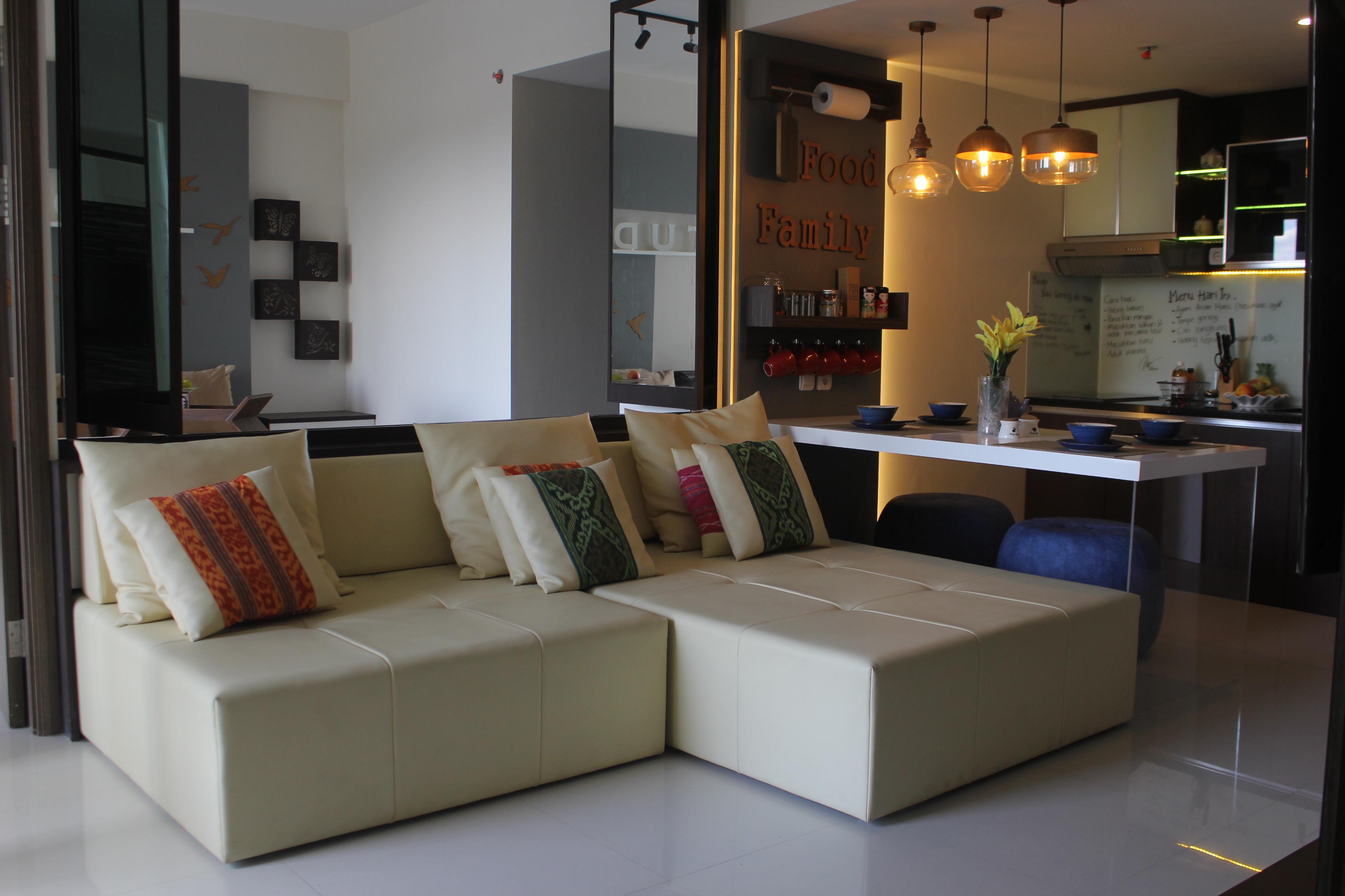 paket interior apartemen ciumbuleuit 3 kamar type rosewood