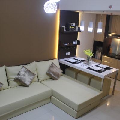 paket interior apartemen 3 kamar harga 128 juta