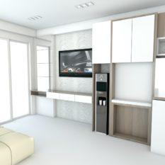 paket interior apartemen gateway bandung harga 99 jutaan