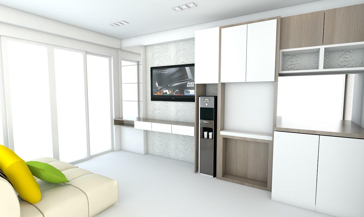 Paket interior apartemen gateway harga 99 jutaan