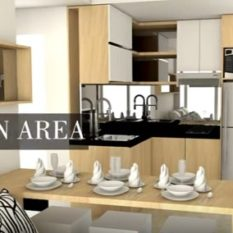 paket kitchenset landmark residence