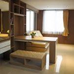 Penggunaan Furniture Serba Guna Apartemen 1 Kamar