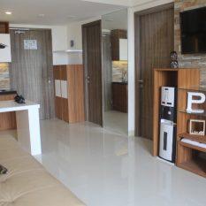 interior apartemen furniture konsep alam natural