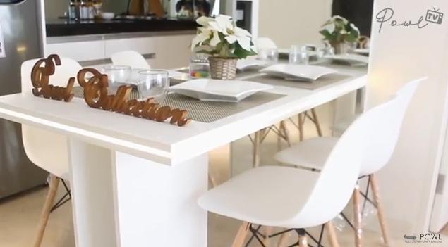 Desain Interior Minimalis Apartemen Warna Putih