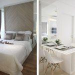 Ide Desain Interior Putih dengan Unsur Kayu