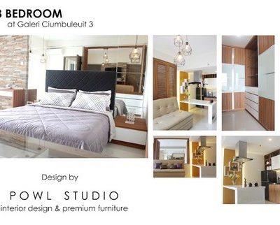 Apartemen Galeri Ciumbuleuit 3 Type 3 Bedroom