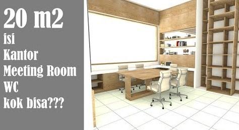 Desain Interior Ruang kerja Minimalis Modern