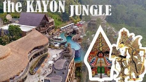 Desain Kamar dan Konsep Hotel The Kayon Bali