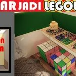 Interior design of a 3×4 bedroom LEGO concept