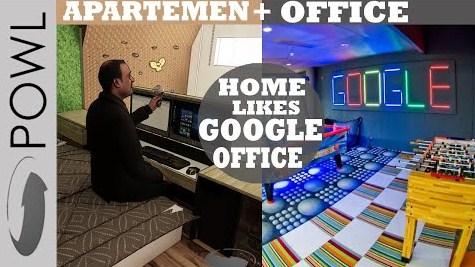Interior Studio Apartemen Soho Home Office