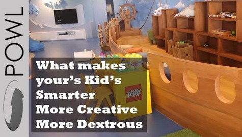 Interior desain dapat mempengaruhi kecerdasan kreatifitas maupu ketangkasan anak
