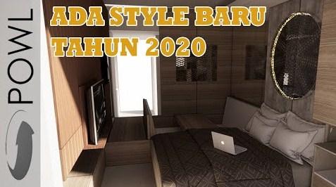 Trend interior desain dan dekorasi rumah tahun 2020